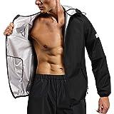 CHUMIAN Vêtements Sauna Sudation Homme Sauna Costume survêtement Sudation Sweat Suits Gym