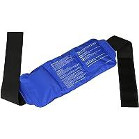 LEADSTAR Poche de Gel Réutilisable Gel à Glace à Froid Chaud avec Emballage Réglable pour Soulagement Douleur et Blessure Sportive