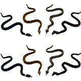 8 kleine Schlangen gemischt Dekoration Schlange Reptil Schreck Scherzartikel