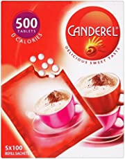 Canderel Tablets Refill Sachets (500 pro Packung) - Packung mit 2
