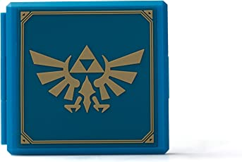 PowerA Nintendo Switch Premium Game Card Case - Zelda Hylian Crest - Nintendo Switch