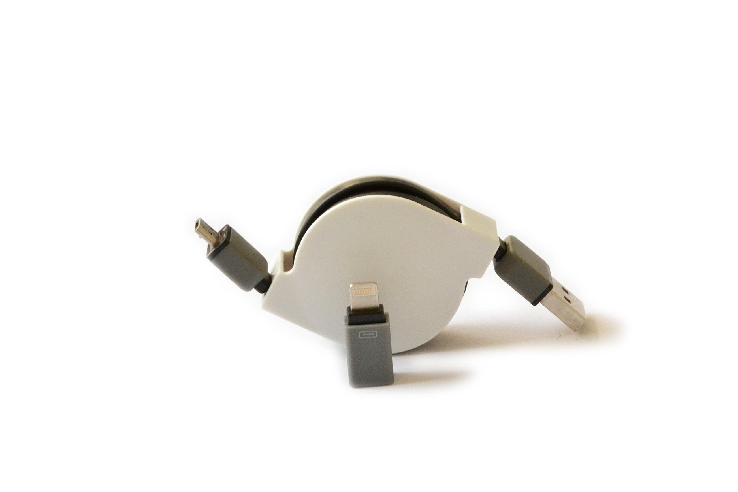 2 in 1 cavo di carica USB Data caricabatteria adattatore per iPhone 6s, 6, 5s lightning 8 pin - Mic