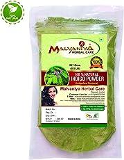 Indigo Hair Powder | Premium Quality 100% Natural for Hair 227 g By Malvaniya Herbal Care