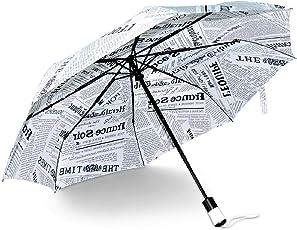 Kraptick White Newspaper Umbrella