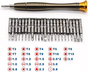 Mantra 25 in 1 Precision Screwdriver Set Multi Pocket Repair Tool Kit