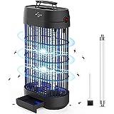 VIFLYKOO Électrique Moustique Killer, 18W UV Lampe Anti Moustique, Destructeur d' Insectes Piège à Mouches Efficace Portée 80