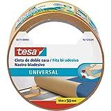 Tesa 56171-00005-02 dubbelzijdig plakband, universeel, 10 m x 50 mm