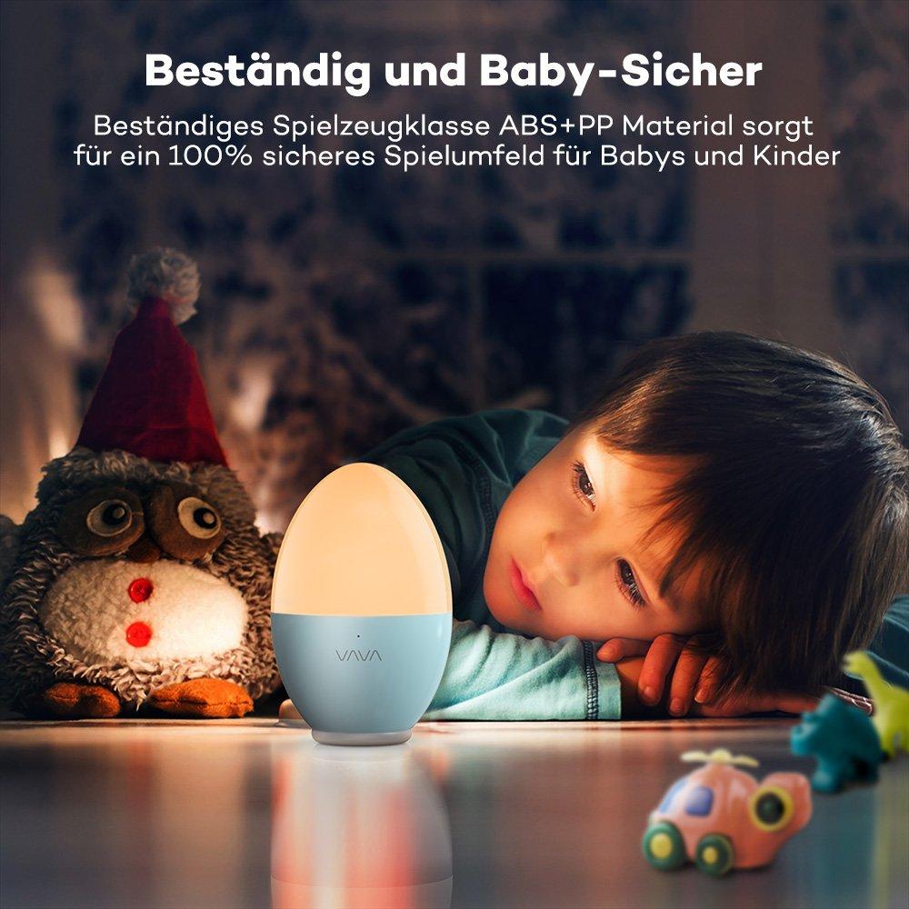 Nachtlicht Kind VAVA Baby Kinder ÖKO-TEST: GUT Nachtleuchte LED ...
