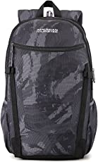 American Tourister 27.5 Ltrs Cam Black Casual Backpack (AMT Pulse SCH Bag 02 CAM Black)