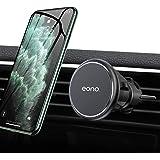 Amazon Brand - Eono Support Téléphone Voiture Magnétique, Porte Voiture Grille Aération Universel avec Rotation 360° Compatib