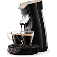 Philips Senseo Viva Cafe Eco HD6562/32 Kaffeepadmaschine - Limited Edition mit 80 Pads gratis, schwarz