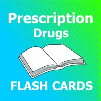 Prescription Drugs Flash Cards 2018 Ed