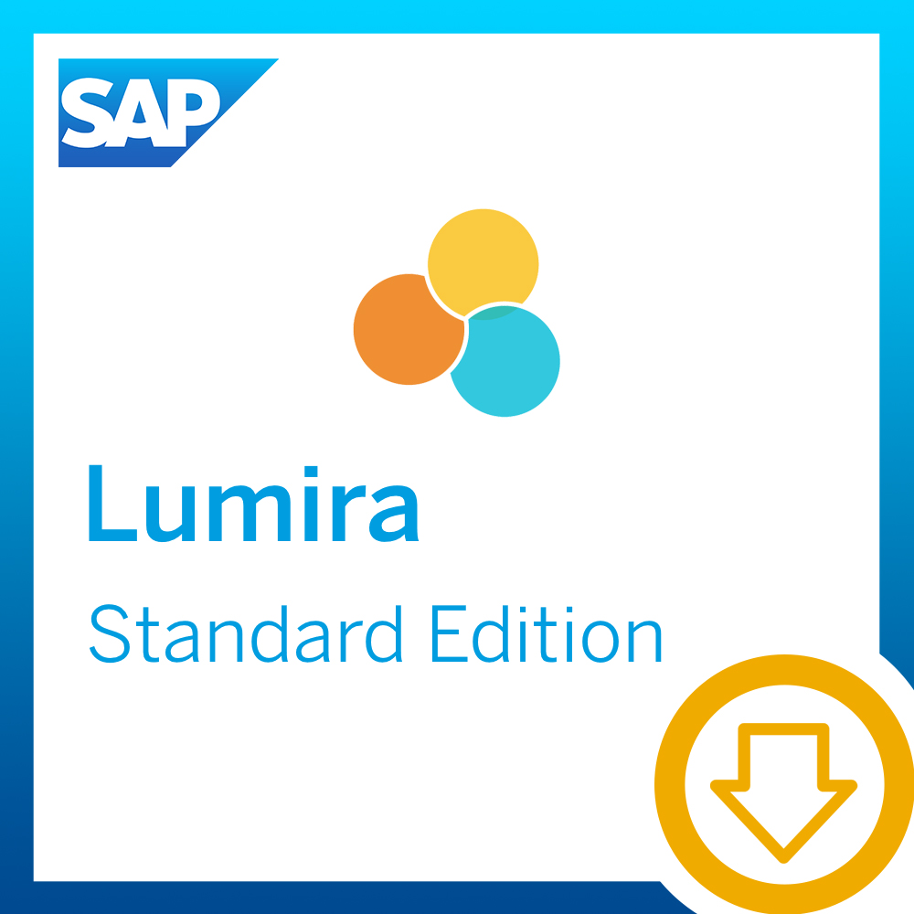SAP Lumira, Standard Edition [Download] (Sql-daten-analyse)