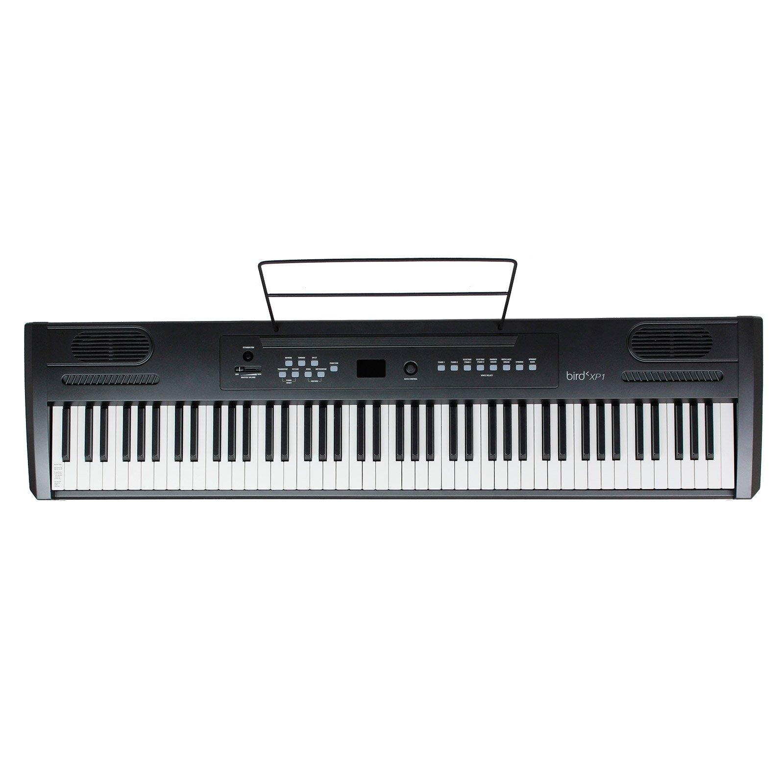 Bird XP1 Piano numérique portable Noir