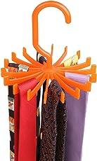 BUCKLE UP Tie Hanger Organiser (Orange)