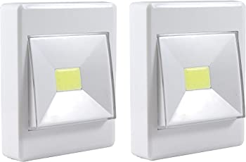 Lifestyle-You Battery Operated Portable Bright LED Switch Light for Wardrobe, Cabinets, Passage, Drawers