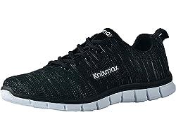 Knixmax-Zapatillas de Running para Mujer, Zapatillas de Deportivas para Correr Al Aire Libre Zapatos Gimnasia Ligero Fitness