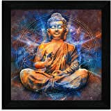 Home Attire HAP-1108 Mindfulness Buddha Paintings, 12x12 inch