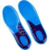 CSL INSOLES UK SIZE 3-12 BLUE AVAILABLE FOR WORK BOOTS HIKING RUNNING TRAINERS FOOT SUPPORT HEEL SHOE INSERTS GEL MASSAGING F