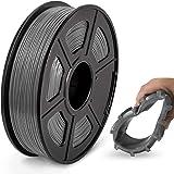 JAYO de SUNLU TPU Flexible Filament 1.75mm, Impresora 3D TPU Shore 95A, 500g TPU Gris, Precisión Dimensional +/- 0.02mm