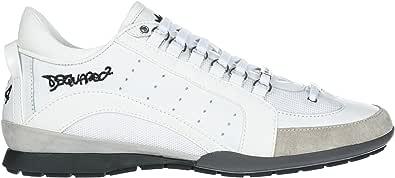 dsquared Scarpe Uomo Sneakers 551 Pelle SNM0434 13060001 31048 Bianco