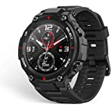 Amazfit T-Rex Smartwatch, 14 Sports Modes Digital Smart Watch with GPS, Touch Control, 20-Day Battery Life, 1.3'' AMOLED Disp