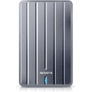 ADATA HC660 1TB Ultra-Slim External Hard Drive, Titanium