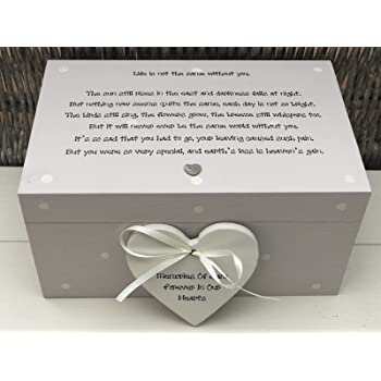 Personalised In Memory Of A Loved One ~ SON ~ BOX any Name Bereavement Loss
