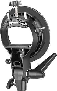 Phot-R PRO Universelle 900 Blitzschiene f/ür Blitz Speedlite /& Digitalkameras