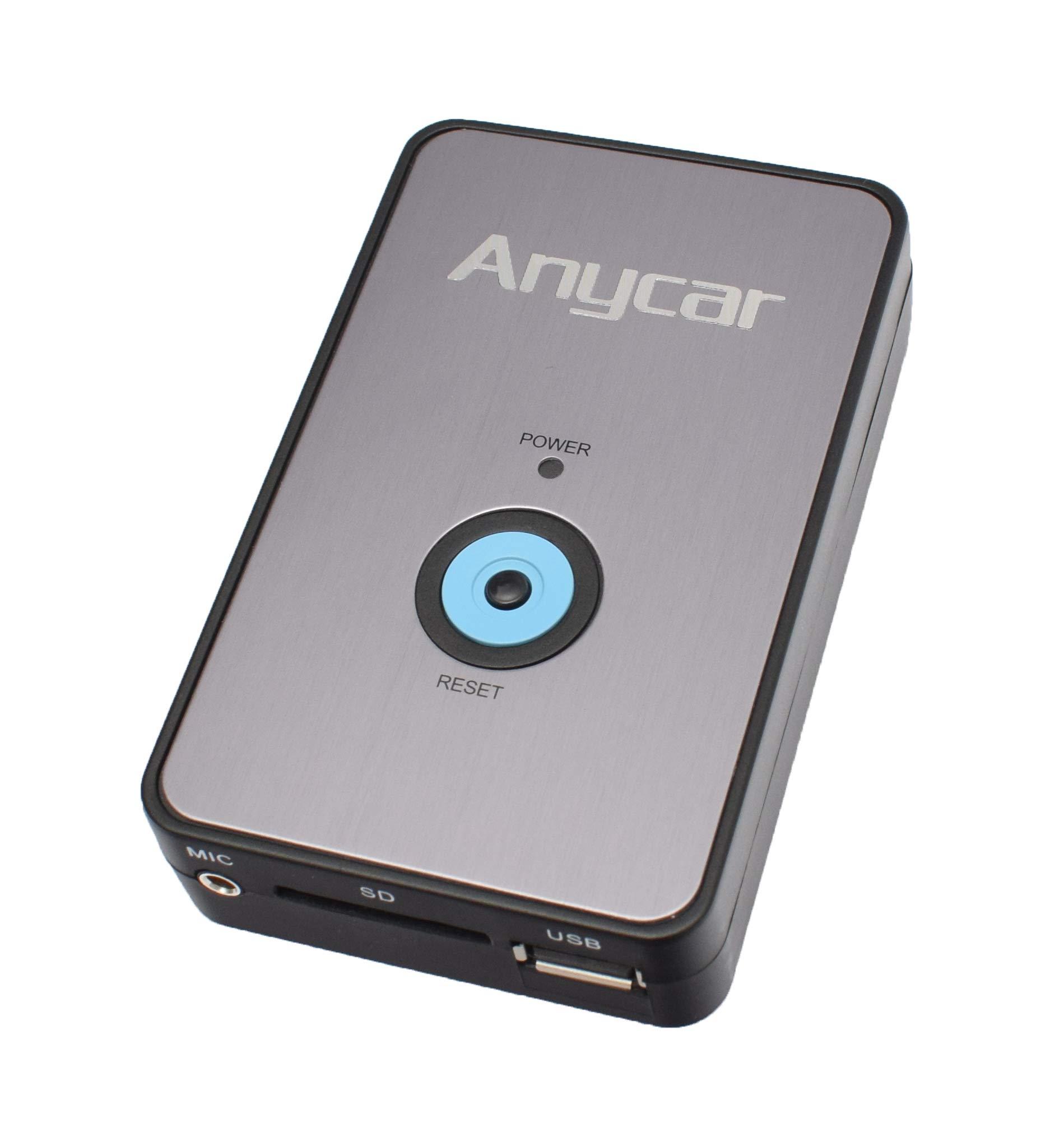 USB-SD-AUX-MP3-Adapter-Bluetooth-Freisprechanlage-fr-VW-RCD-210-RNS-310-ab-Juli-2010-Skoda-Beat-Cruise-Swing-ab-Juli-2010
