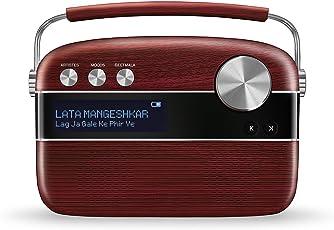 Saregama Carvaan SC03 Portable Digital Music Player (Cherrywood Red)