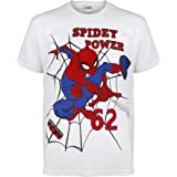Marvel Comics Spiderman Thwip Boys T-Shirt   Official Merchandise   Ages 4-11, Childrens Clothes, Avengers Spiderman Top, Boy