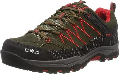 CMP Kids Rigel Low Trekking Shoes WP, Scarpe da Arrampicata Basse Bambino