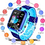 Kids Smartwatch Phone, WiFi GPS LBS Real Time Positioning Watch Waterproof Smart Watch for Kids 3-14 with SOS Anti-Lost...