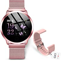 GOKOO Smart Watch Connected Watch Women Heart Rate Monitor Heart Rate Monitor ...