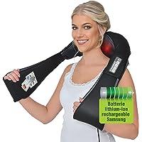Masseur sans fil allemand Donnerberg - Masseur pour l'épaule, cou avec batterie rechargeable -Shiatsu Massage des tissus…