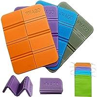 MAQUE - Set di 4 cuscini pieghevoli per esterni, impermeabili, per bambini, con pratica borsa, per esterni, campeggio…