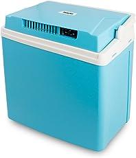 SUNTEC elektrische Kühlbox EKB-8359 4 seasons [EEK A++, 22,4 l Volumen, zusätzliche Warmhaltefunktion (~60 °C), ECO-Mode, 12 V & 240 V Stecker, Tragegriff, max. 58 Watt]