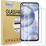 AOKUMA Glass for OukitelC21 Tempered Glass Screen Protector, [2 Pack] Premium Quality Guard Film, Case Friendly, Comfortable