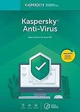 Kaspersky Anti-Virus 2019 | 3 PCs | 1 Jahr | Aktivierungscode & Datenrettung by EaseUS CD-ROM