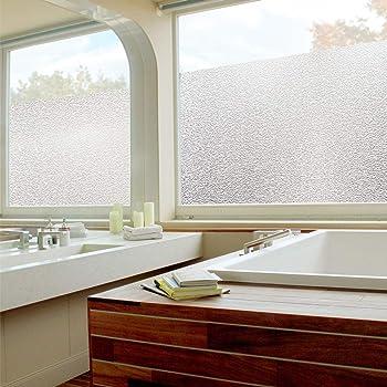 Pellicola smerigliata 75x300 cm opaca protezione privacy decorazione vetro fai da te - Pellicola finestre privacy ...