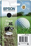 Epson Original Singlepack Schwarz 34XL Golfball DURABrite Ultra Ink