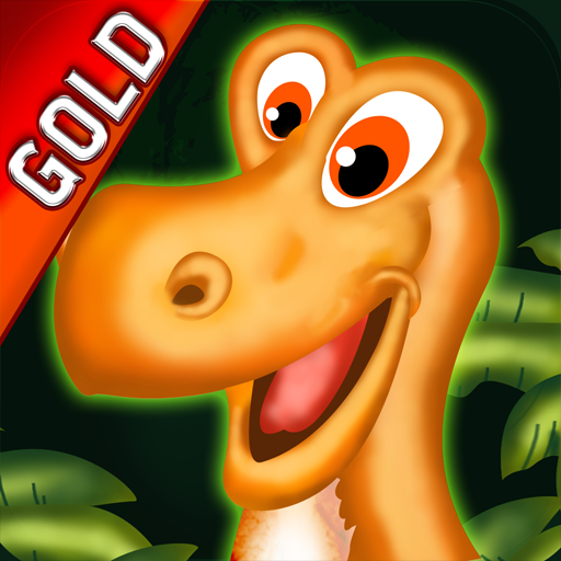 Dinosaurier-Insel Gold