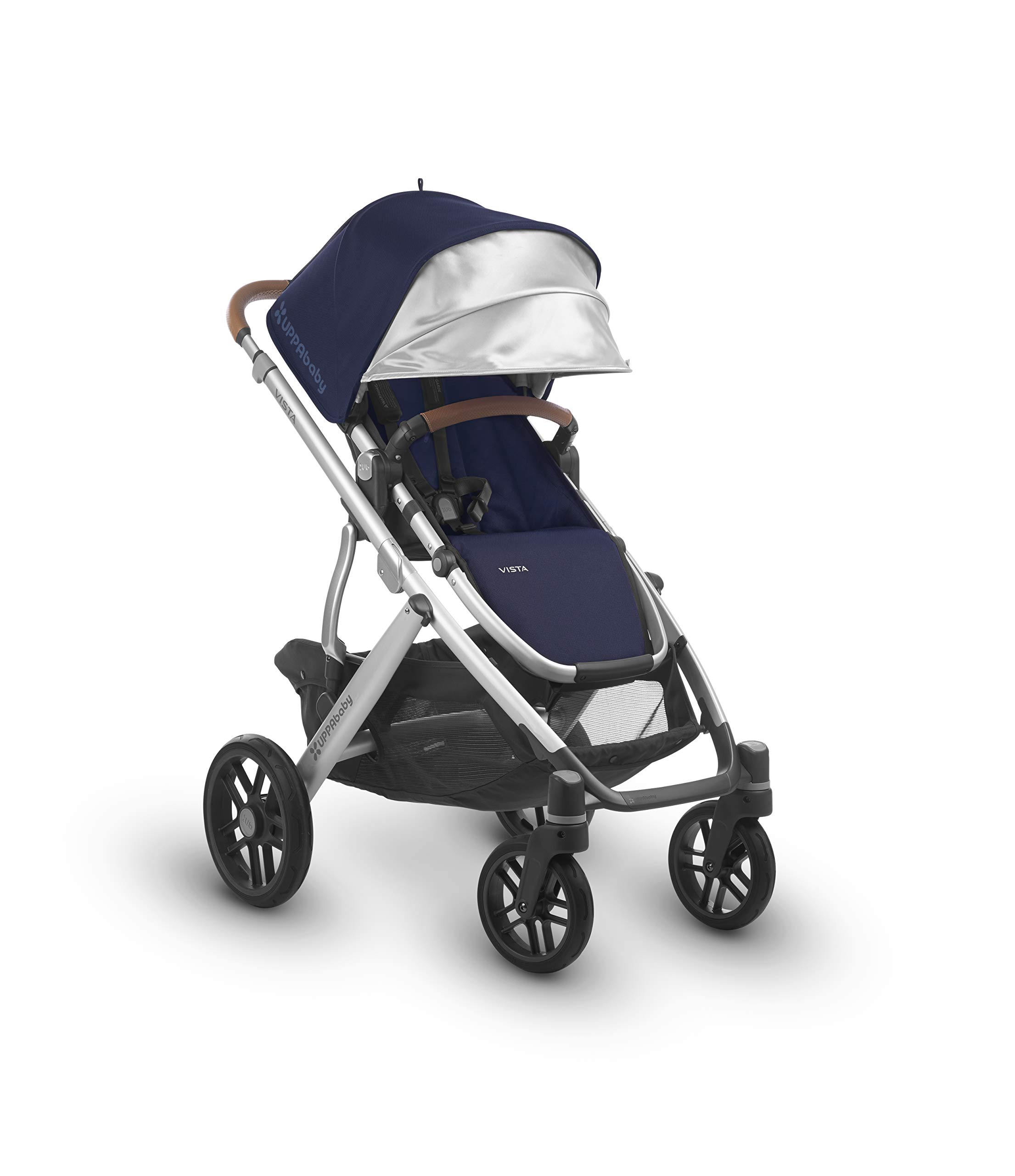 Uppababy Pushchair, Taylor Navy UPPAbaby A pushchair/ travel system with all weather protection Can be upgraded to carry two or three children with additional accessories Large basket 2