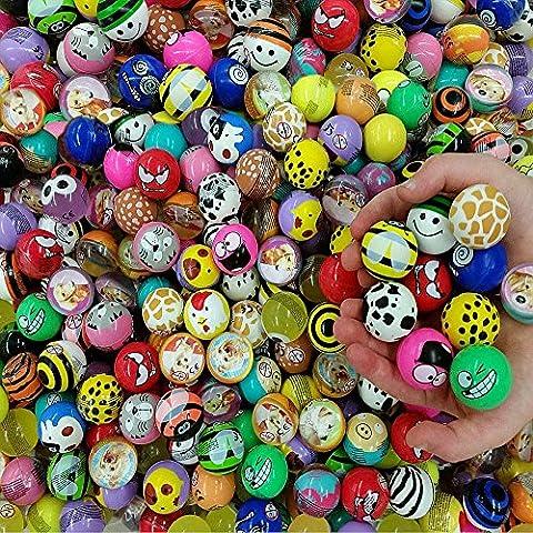 Balles Rebondissantes - German Trendseller® - 6 x balles rebondissantes