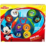 Sambro–Set de Pâte À Modeler en Forme de Mickey Mouse Multicolore (dsm4–4718)