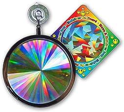 Suncatcher - Axicon Rainbow Window - Includes Bonus 'Rainbow on Board' Sun Catcher