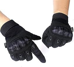 Unigear Taktische Handschuhe, Motorrad Handschuhe Herren, Sommerhandschuhen fürs Motorradfahren Handschuhe Army Gloves Sporthandschuhe Geeignet für Motorräder Skifahren, Militär, Airsoft