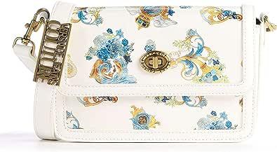 Versace Jeans Couture Umhängetasche Kunstleder weiß E1VWABM1