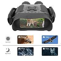 Bestguarder Nachtsicht-Fernglas, 4,5–22,5 × 40 HD Digital Infrarot Jagd Scope Record 5 MP Foto & 1280 × 720 Video mit Ton von 10,2 cm Display bis zu 400 m Upgrade Version